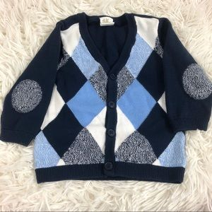 H&M baby button sweater
